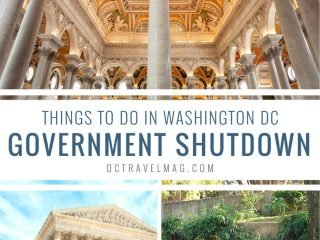 Things to do in Washington DC during a Government Shutdown