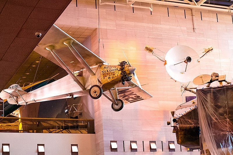 Washington-DC-Museums--Smithsonian-National-Air-and-Space-Museum