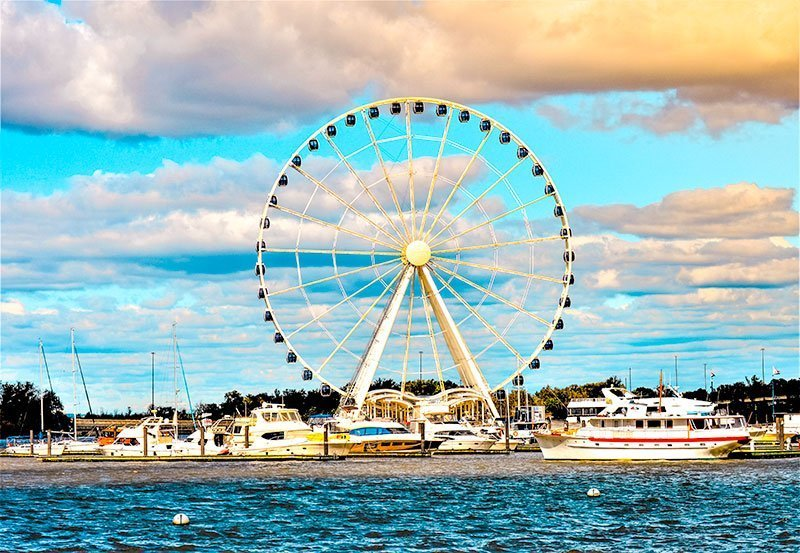 Washington-DC--National-Harbor--Capital-Wheel