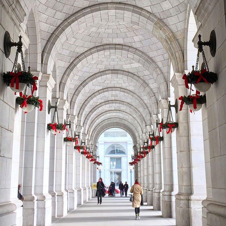 Union Station Washington DC Christmas