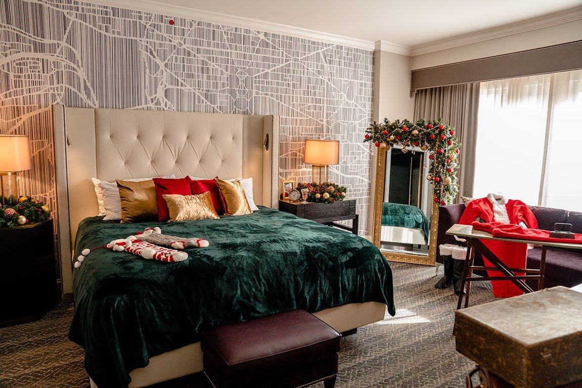 Fairmont Washington DC Georgetown Santa Suite
