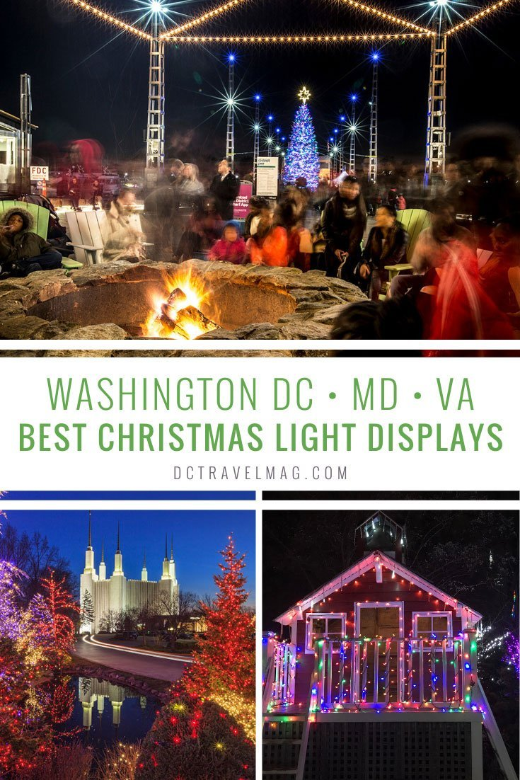 Best of Washington DC Christmas Light Displays