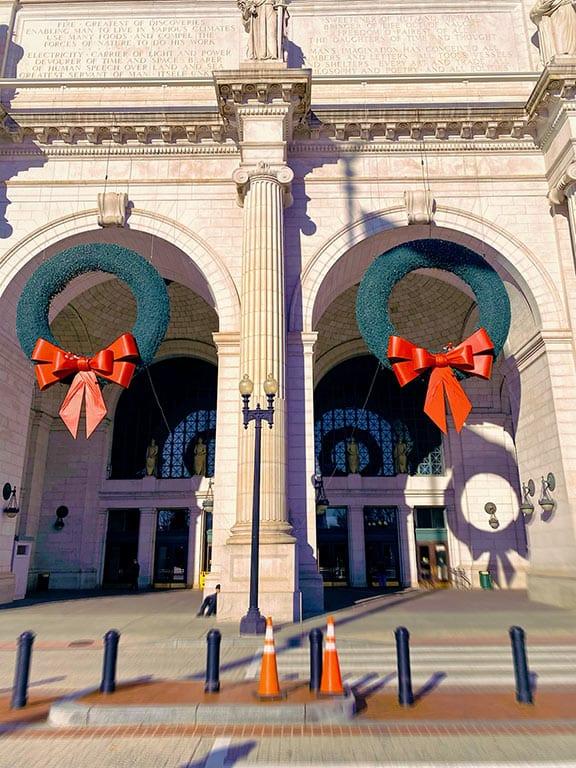 Christmas at Union Station in Washington DC