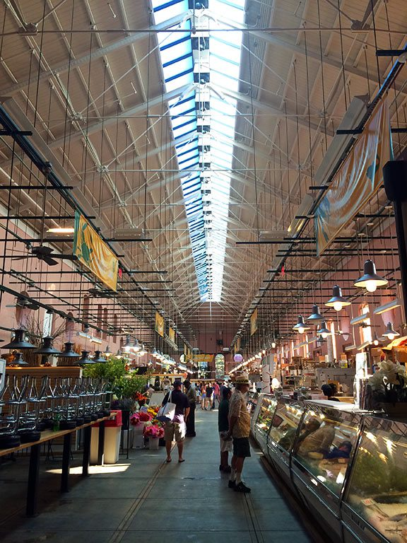 Washington DC Eastern Market Food near National Mall