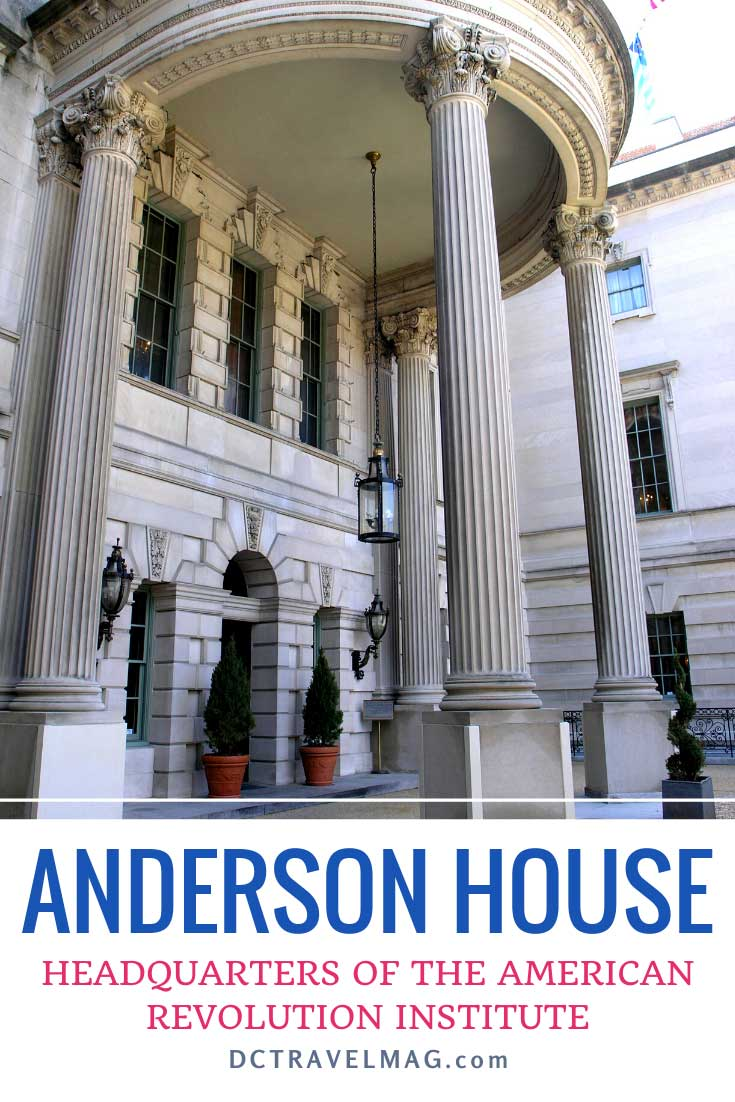 Anderson House headquarters of the American Revolution Institute