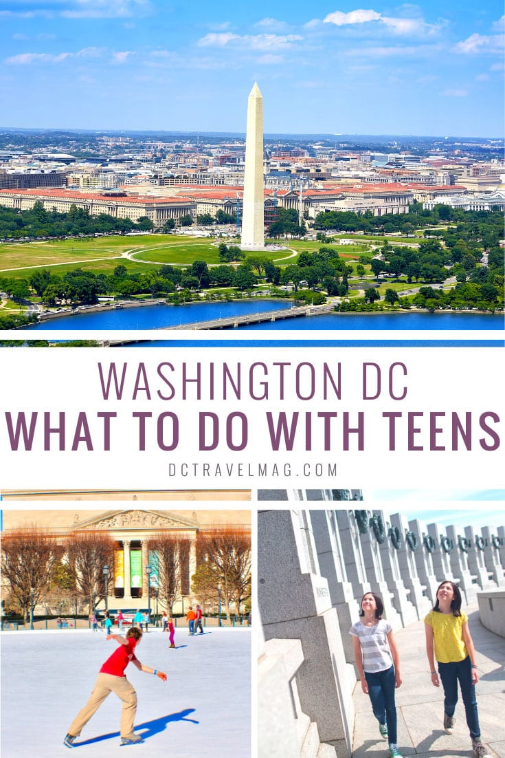 Things to do in DC for Teens