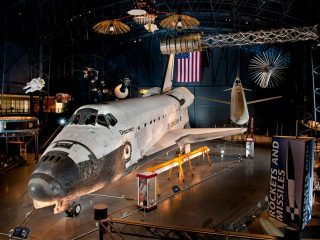 Smithsonian National Air and Space Museum's Steven F. Udvar-Hazy Center