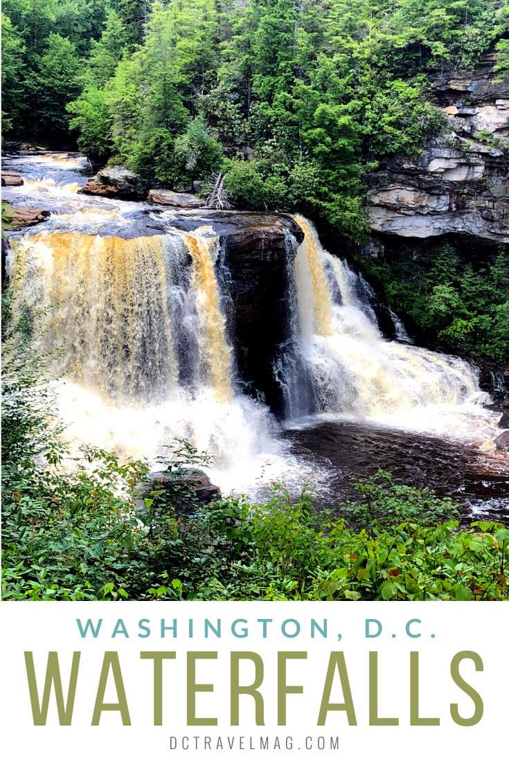 waterfalls near washington DC