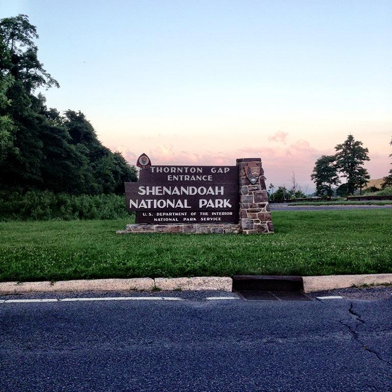 Shenandoah Skyline Drive