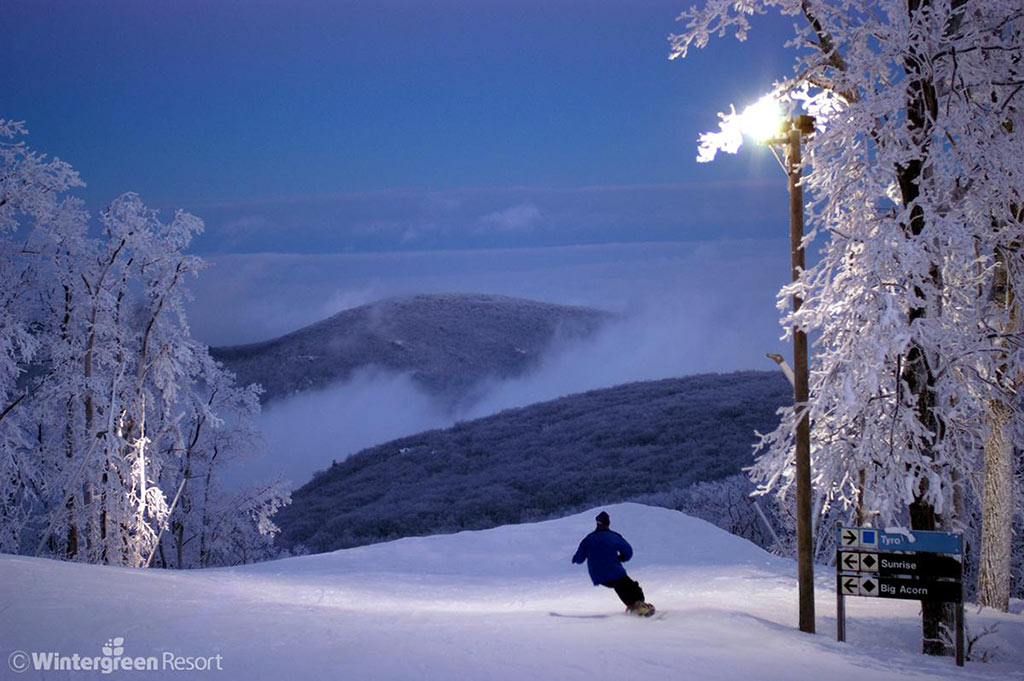 Ski Resorts in Virginia- Wintergreen Resort