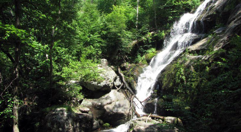 waterfalls in Virginia- Crabtree Falls