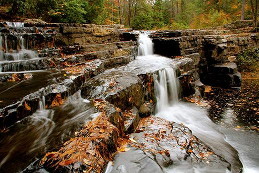 waterfalls in Virginia- Dismal Falls