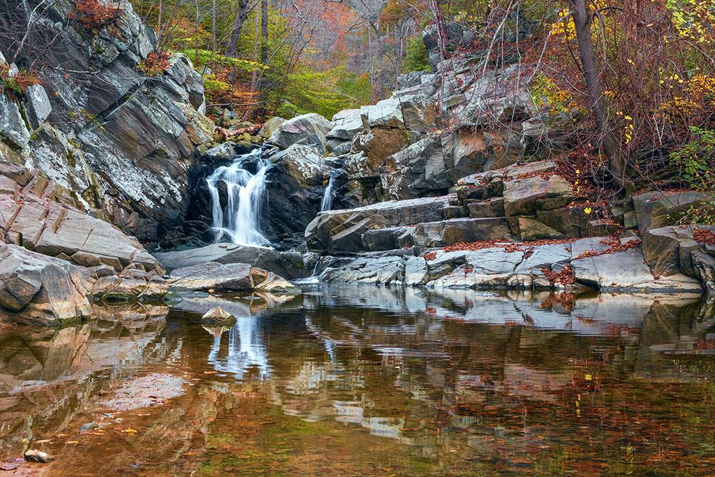 waterfalls in Virginia- Scott's Run