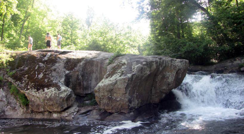 waterfalls in Virginia- Panther Falls
