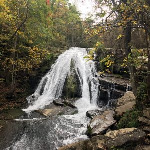 waterfalls in Virginia- Roaring RunFalls