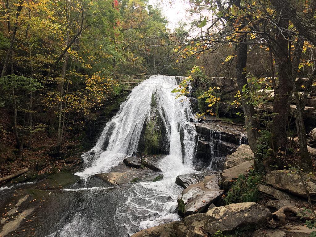 waterfalls in Virginia- Roaring RunFalls