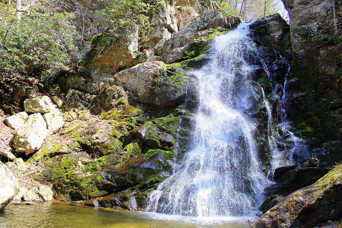 waterfalls in Virginia- Stiles Falls