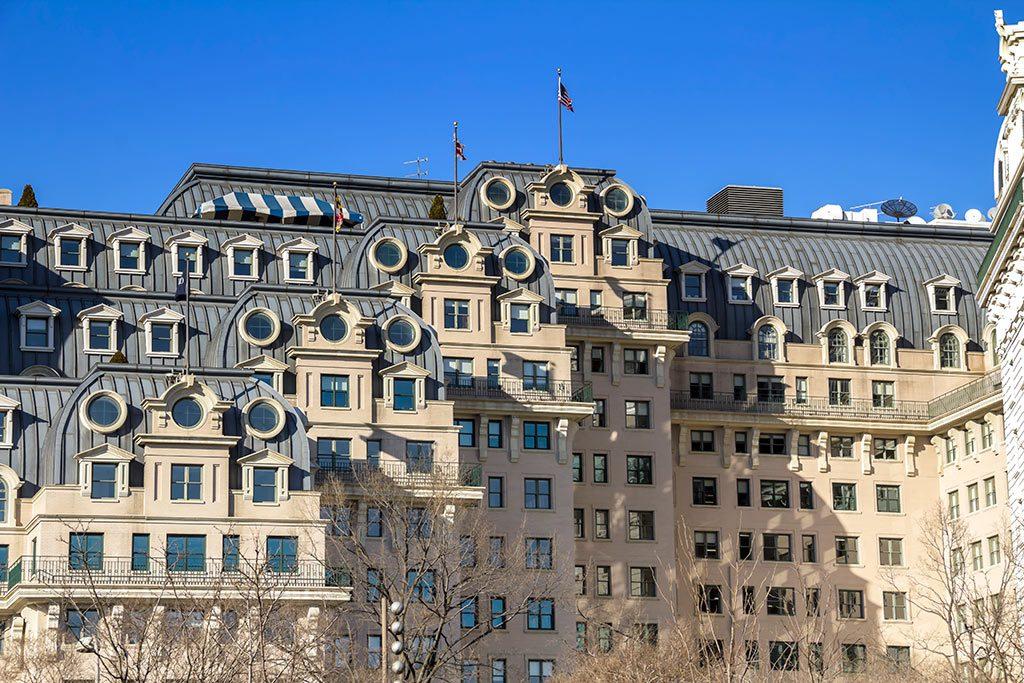 washington dc hotels- Willard