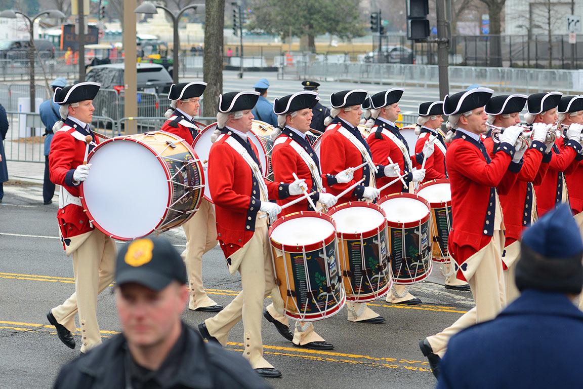 Washington DC Presidential Inauguration Procession