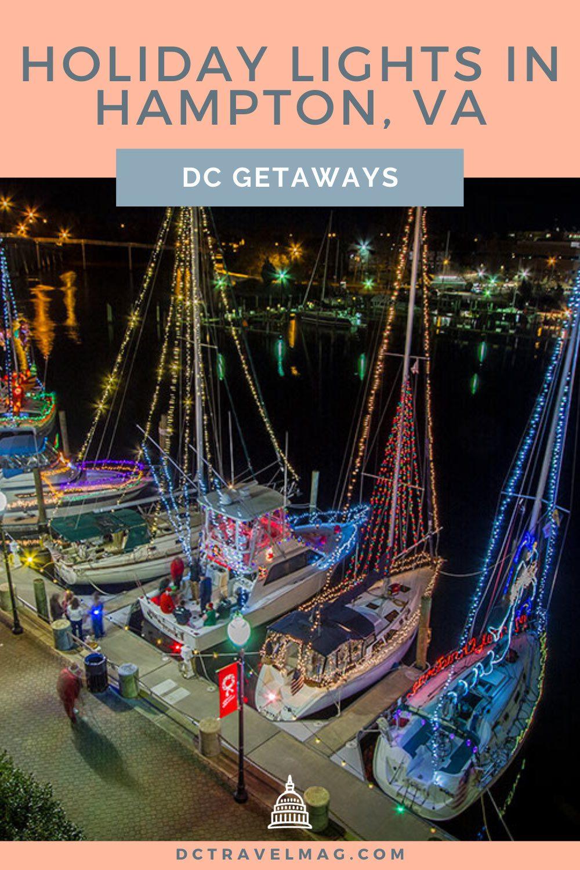 Christmas Lights in Hampton Roads Virginia