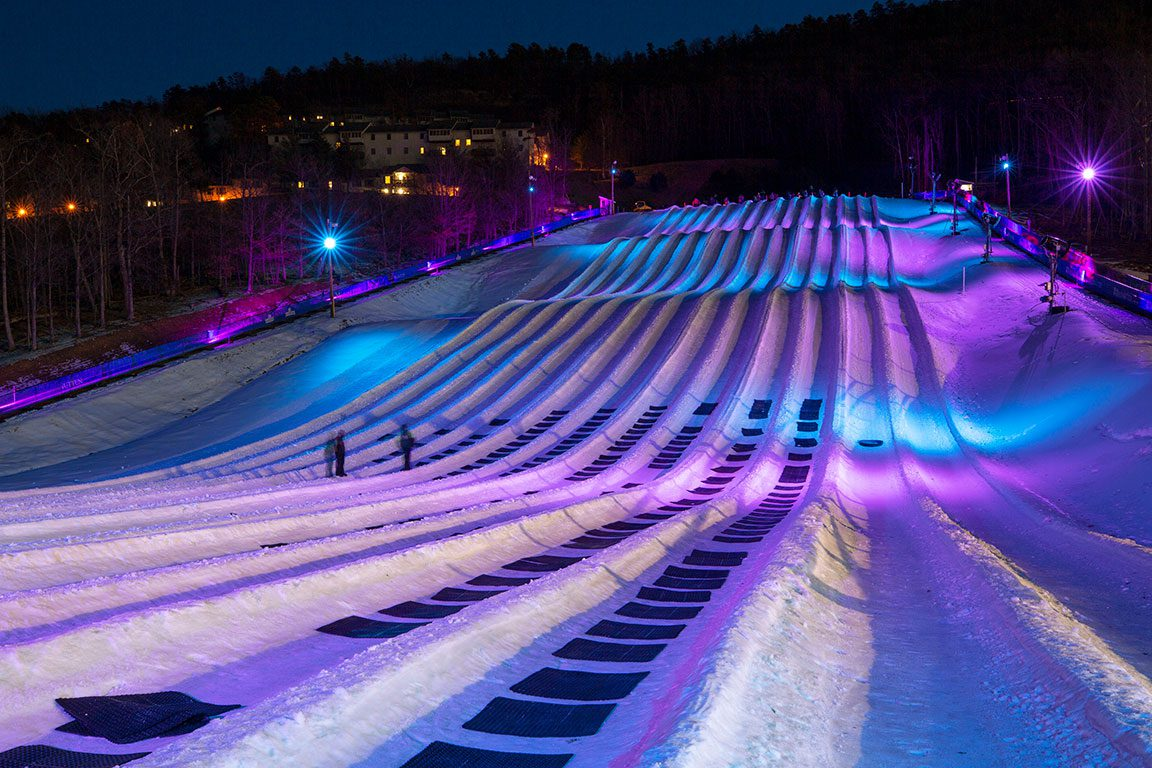 Massanutten Resort Virginia Snow Tubing