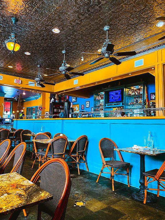Williamsburg Restaurants - Blue Talon Bistro