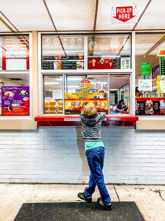 Williamsburg Restaurants - Brusters Real Ice Cream