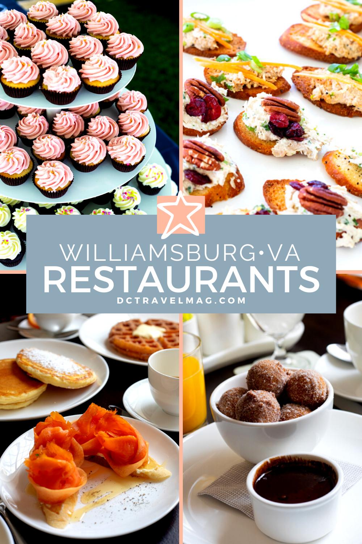 Williamsburg VA Restaurants