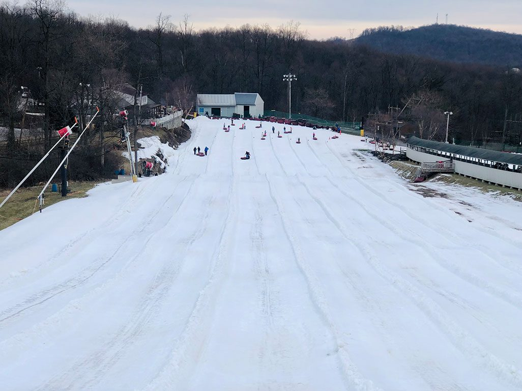 Ski Resorts in PA snow tubing