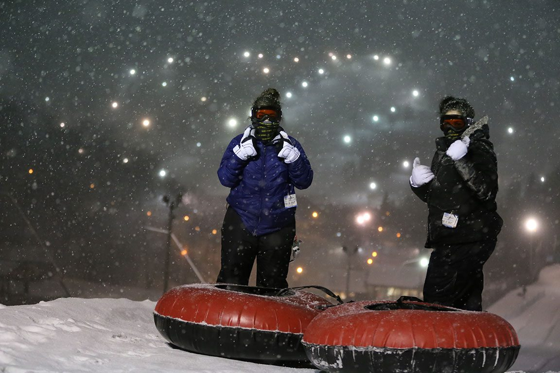 Seven Springs Mountain Resort- tubing in PA