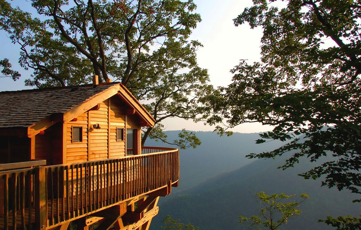 Glamping in Virginia - primland resort