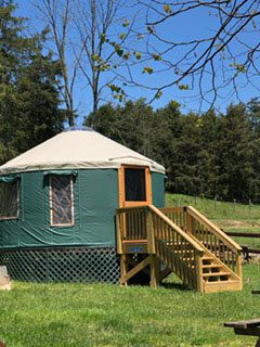 Glamping in Virginia - Rock Tavern River Kamp