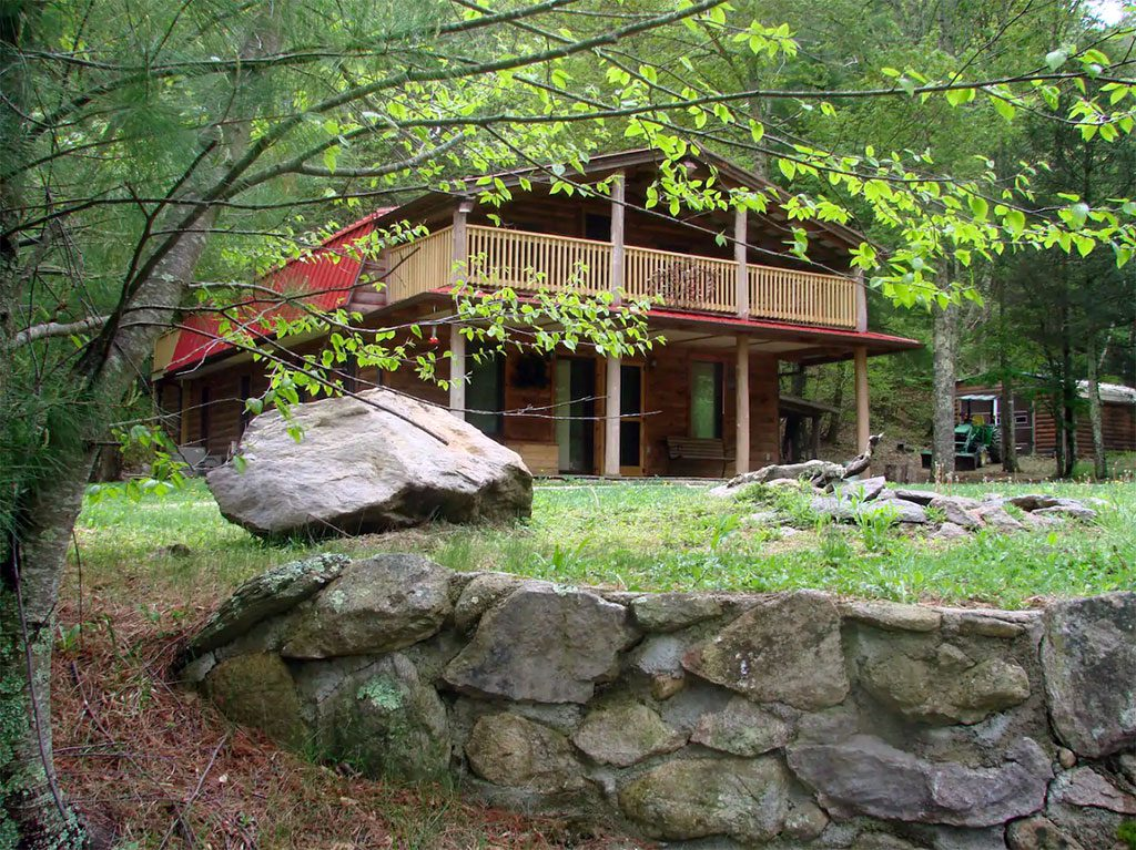 Glamping in Virginia - Rock N Creek Cabi