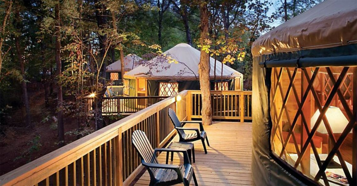 Glamping in Virginia - Shenandoah Crossings