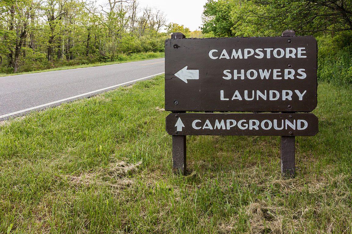Shenandoah National Park Camping