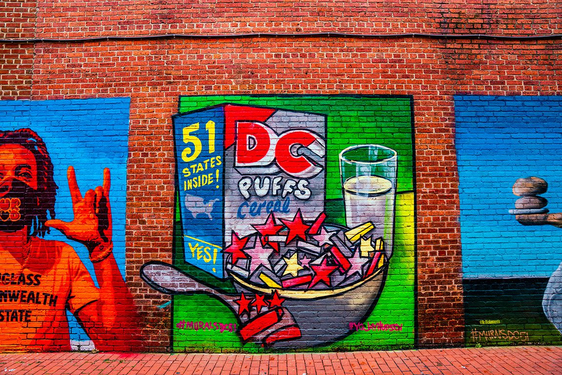 Murals DC - 51st State- H Street