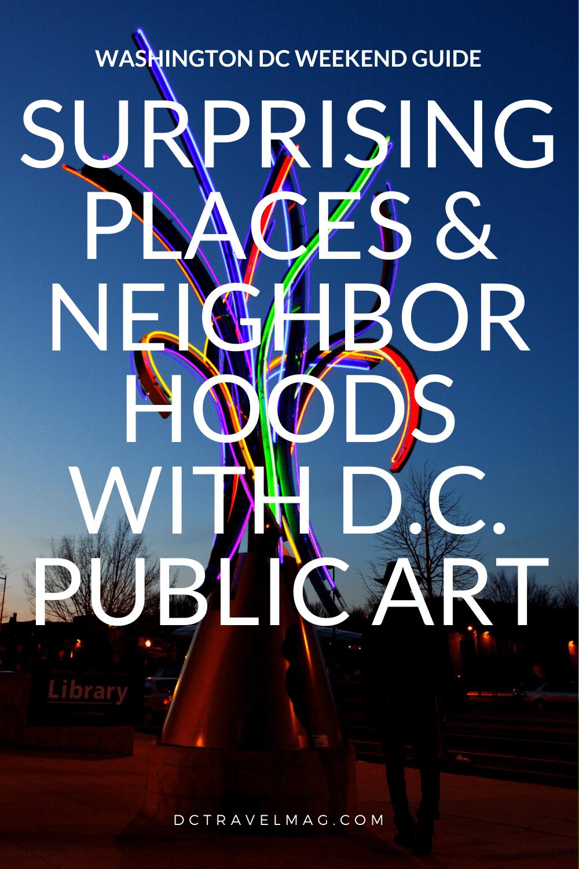 Washington DC Public Art
