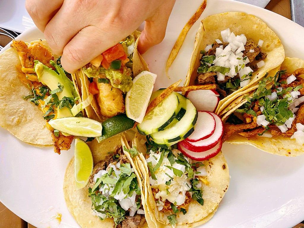 Washington DC Tacos at Mezcalero Cocina Mexicana