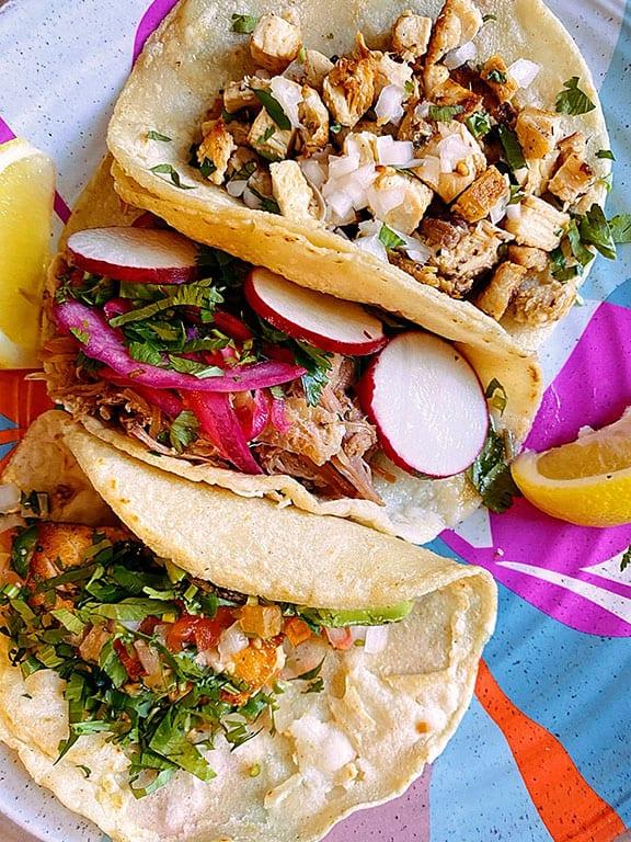 Washington DC Tacos at Taqueria Habanero