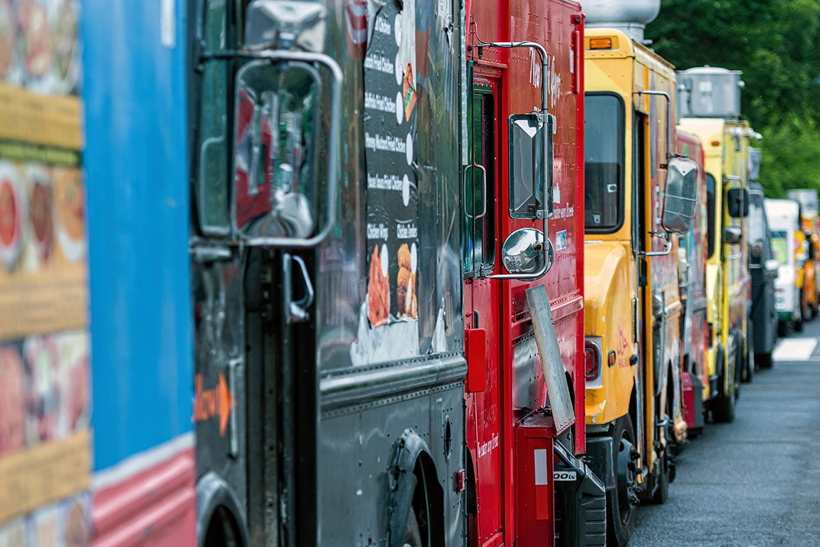 Food trucks near the National Mall Washington DC Restaurants