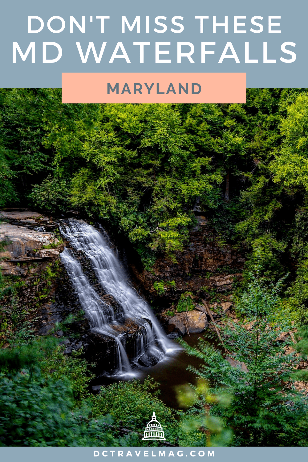 Waterfalls In Maryland