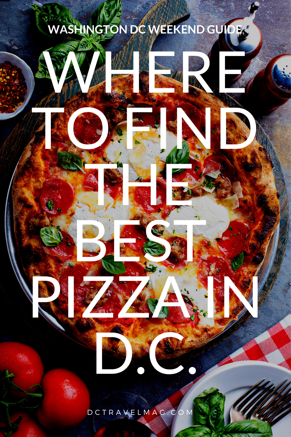 Most Amazing Washington DC Pizza restaurants
