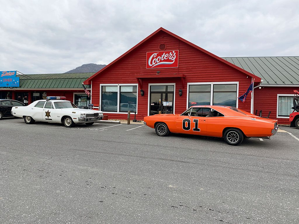 Dukes of Hazard Cooters in Luray Virginia