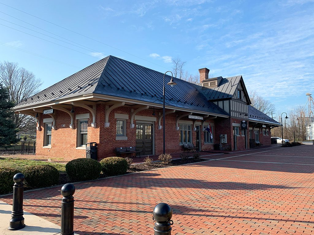 Luray Depot and Railway Museum in Virginia