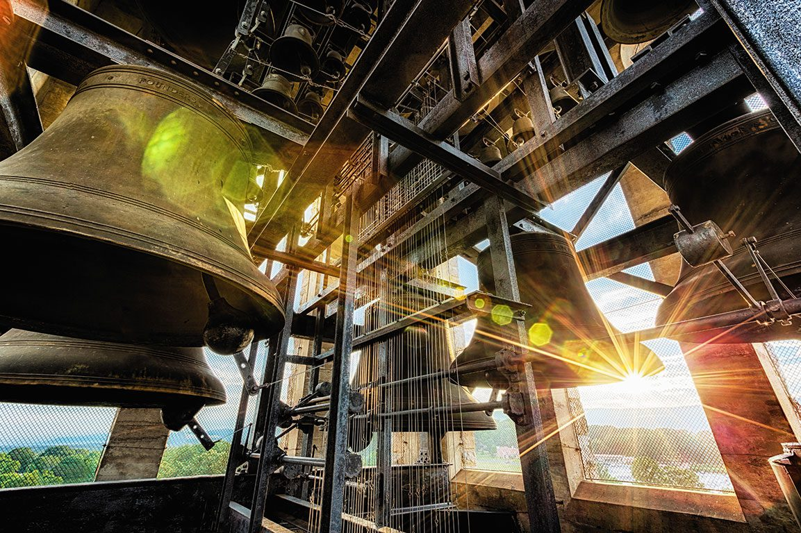 Luray Singing Tower in Luray Virginia