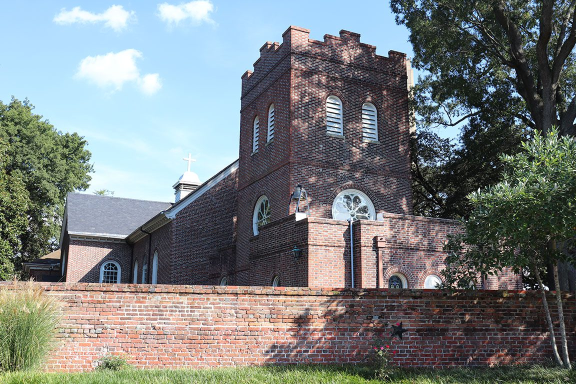 St. Pauls Episcopal Church along the Waterways to Freedom tour - Things to do in Norfolk VA