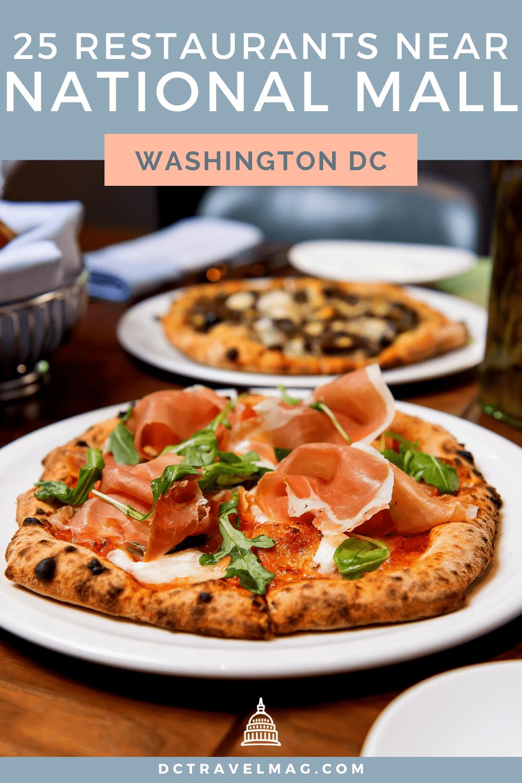 Restaurants near the National Mall in Washington DC