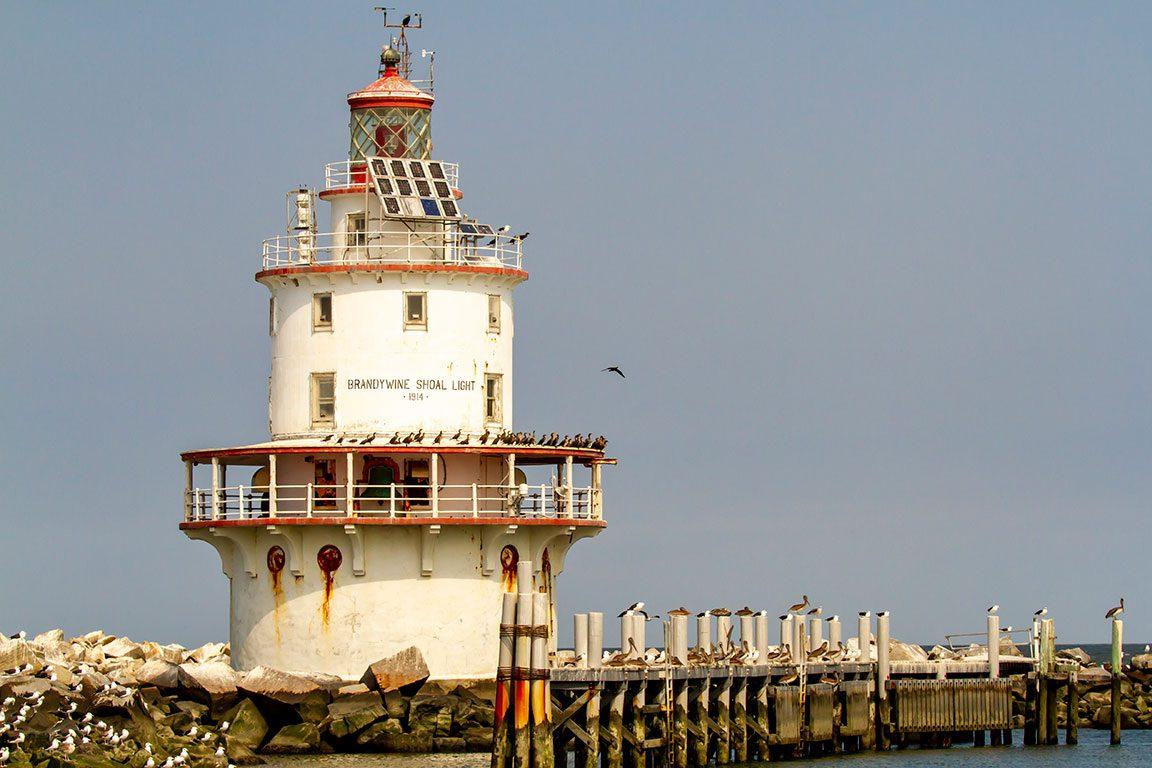 Delaware Lighthouses- Brandywine Shoal Lighthouse