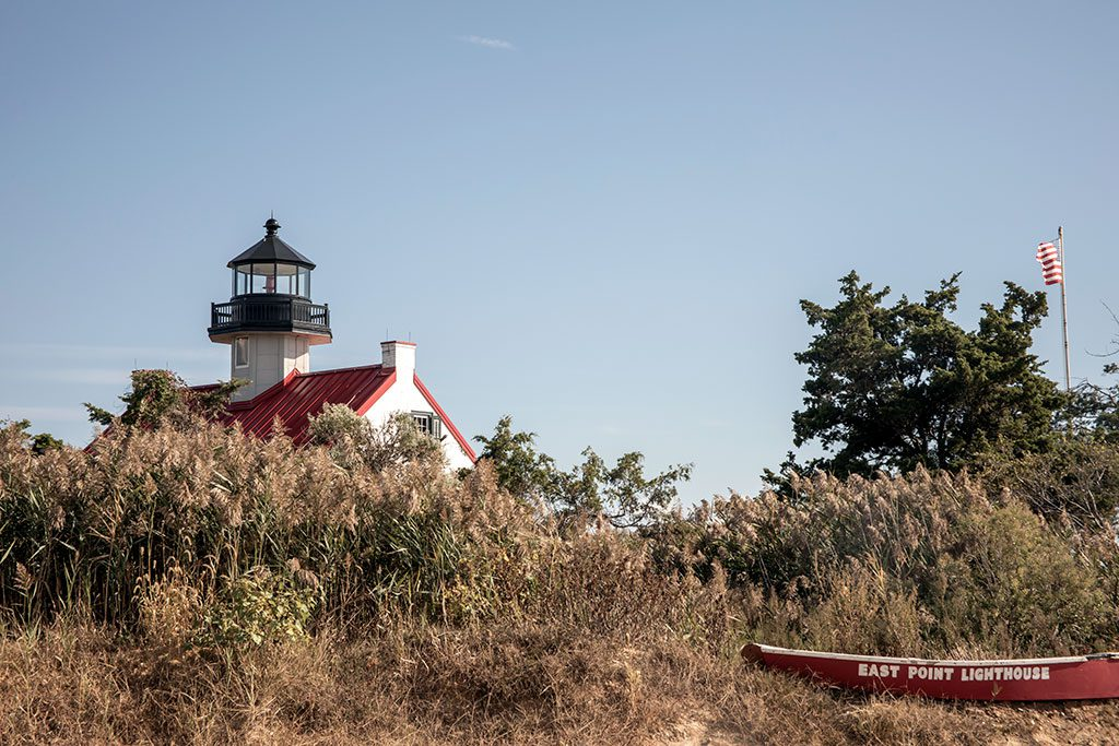 Delaware Lighthouses- East Point Light or Maurice River