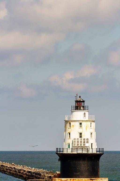 Delaware Lighthouses Harbor of Refuge